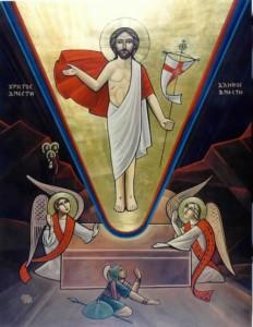 Christus ist auferstanden, er ist wahrhaftig auferstanden